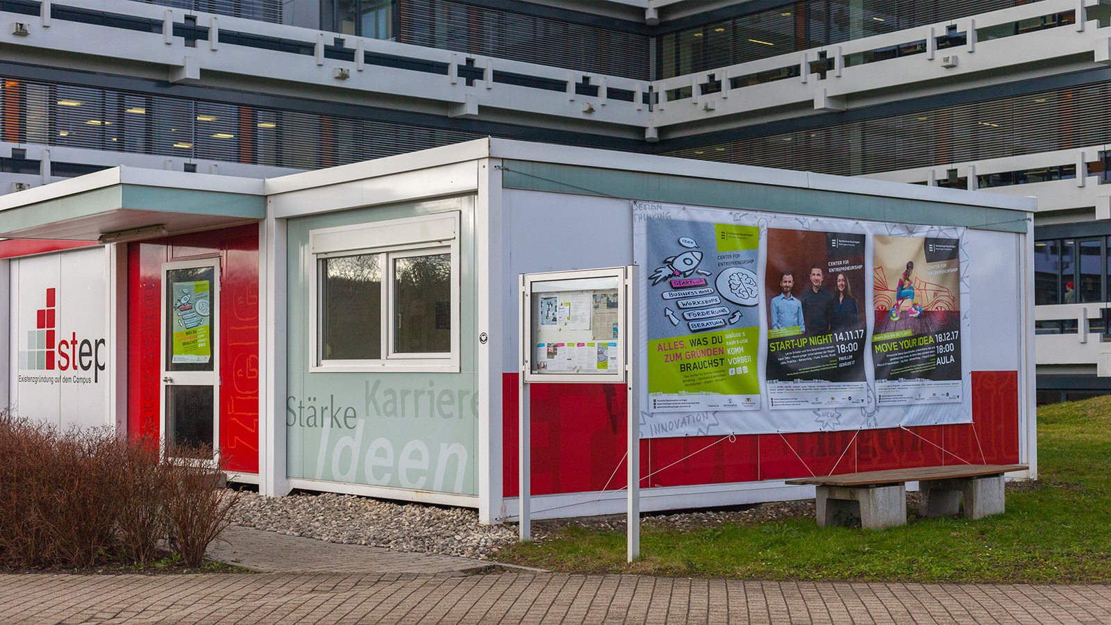 Bild: Container Center for Entrepreneurship Reutlingen
